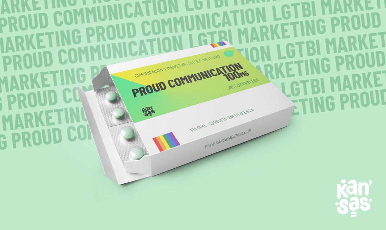 COMUNICACIÓN Y MARKETING LGTBI E INCLUSIVO. PROUD COMMUNICATION - Kansas agencia